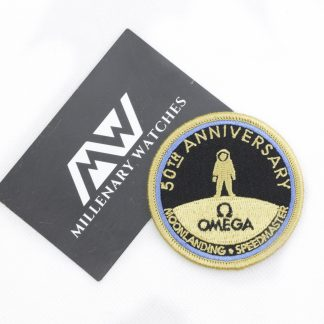 Omega Speedmaster Apollo 11 50th anniversary patches