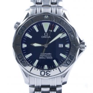 Omega Seamaster 41mm Electric Blue Quartz