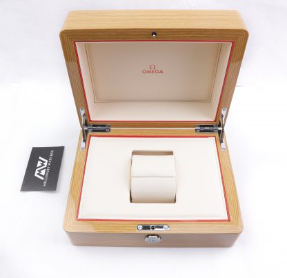 Omega watches wooden box