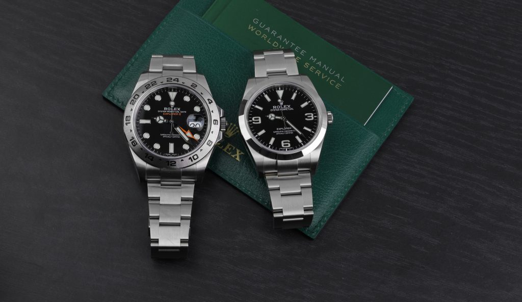Rolex Explorer II 21670 VS 214270