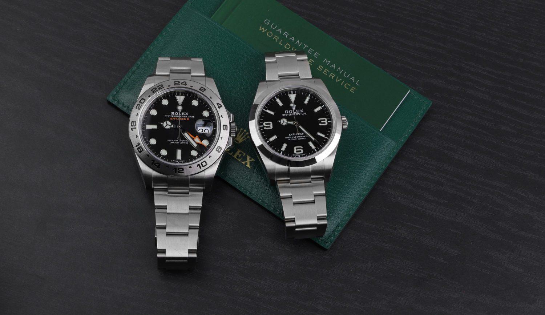 Rolex Explorer II 21670 VS 214270