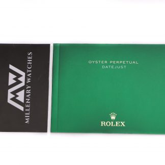 Rolex Datejust Manual Booklet