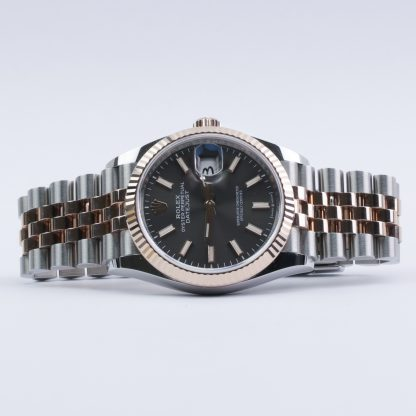 Rolex Datejust 36mm Rose Gold Rhodium Dial 2019