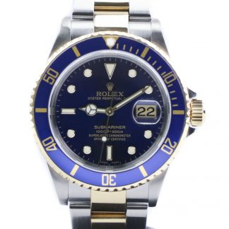 Rolex Submariner Two-Tone Yellow Gold 16613LB