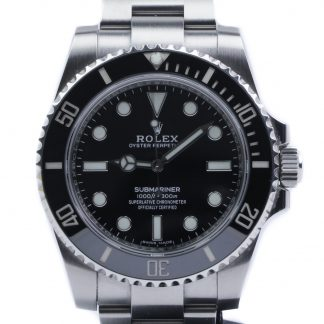 Rolex Submariner Ceramic No-date 114060 2017
