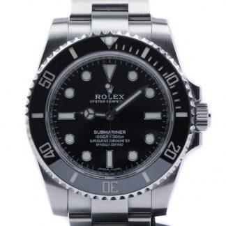 Rolex Submariner Ceramic No-date 114060 2017