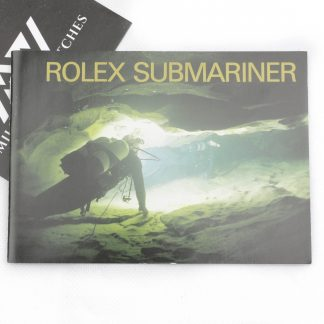 Rolex Submariner vintage instructions manual