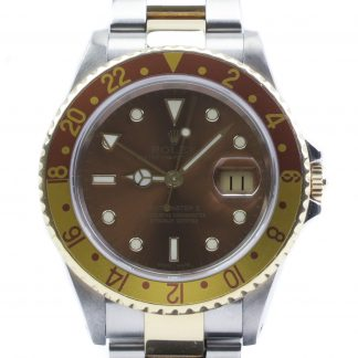 Rolex GMT-Master II 16713 Root beer 2002