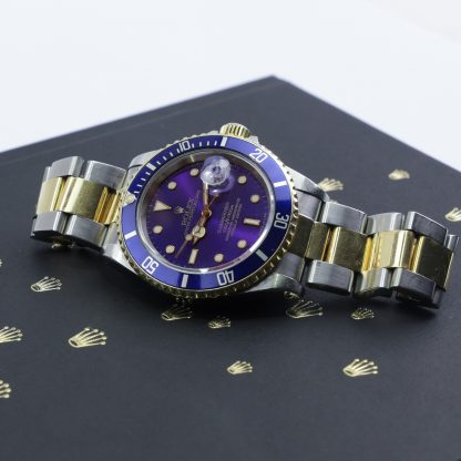 Rolex Submariner Date Two-Tone Yellow Gold 16613