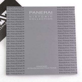 Panerai Manual instructions