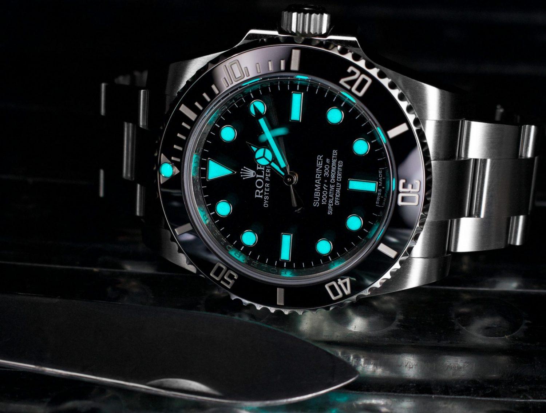 Rolex Lume Chromalight