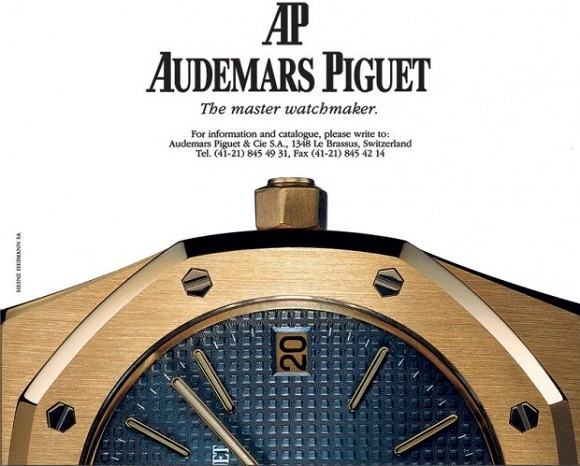 Audemars Piguet vintage advertisement
