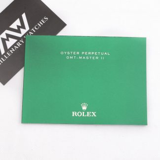 Rolex GMT-Master II Manual booklet for sale buy online Millenary Watches