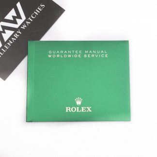 Rolex booklet service manual