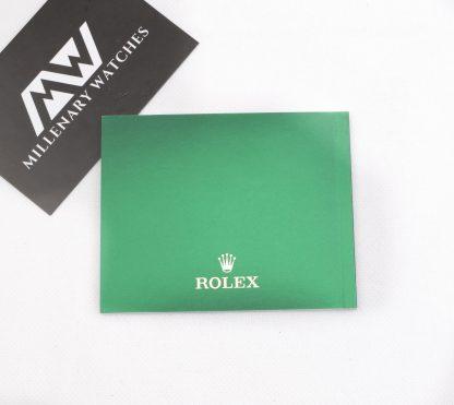 Rolex booklet