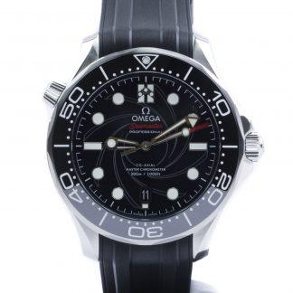 """Omega Seamaster Diver 300M """"James Bond"""" Limited Edition 2020"""