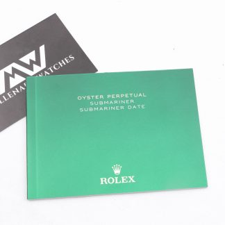 Rolex Submariner Date Booklet Manual