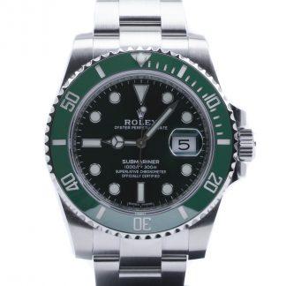 Rolex Submariner Ceramic Date Green Dial 116610LV Unworn 2020