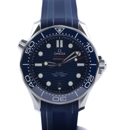 Omega Seamaster Diver 300M 42mm Blue Dial Rubber New 2020