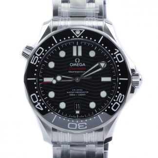 Omega Seamaster Diver 300 M Black Dial 42mm New 2020