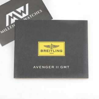 Breitling Avenger GMT II Manual Booklet
