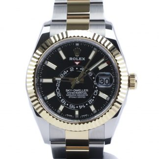 Rolex Sky-Dweller Two-Tone Black Dial 326933 2020
