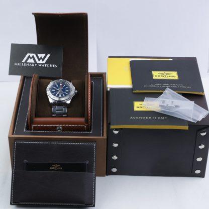 Breitling Avenger II GMT Chronomat 43mm 2017