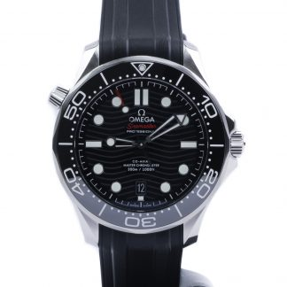 Omega Seamaster Diver 300M 42mm Black Dial Rubber New 2020