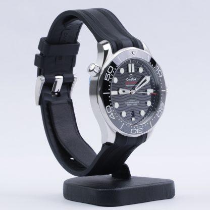 Omega Seamaster Diver 300M 42mm Black Dial Rubber New 2020
