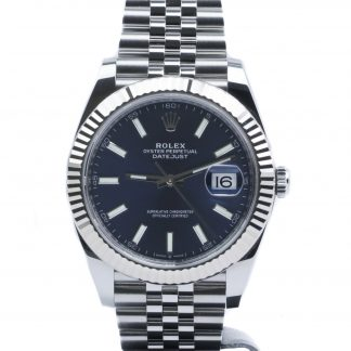 Rolex Datejust 41mm Blue Dial Jubilee 126334 2019