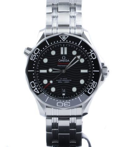 Omega Seamaster Diver 300 M Black Dial 42mm New 2020
