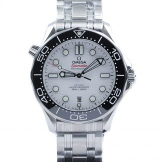Omega Seamaster Diver 300M White Dial 42mm New 2020