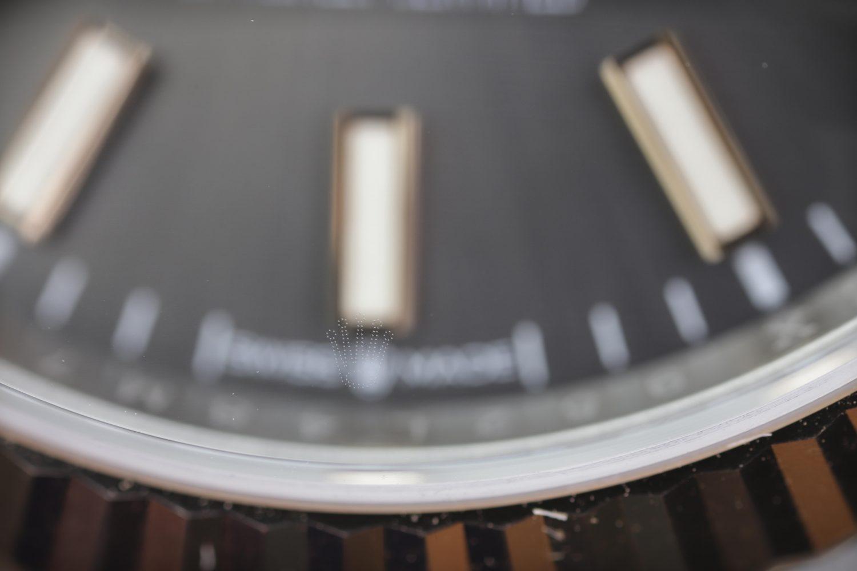 Rolex Laser etched crystal