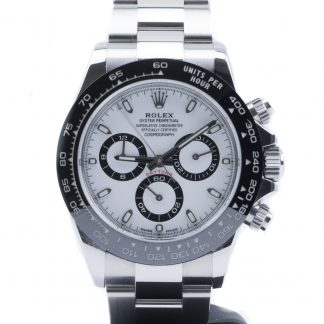 Rolex Daytona Ceramic Bezel White Dial 116500LN December 2019