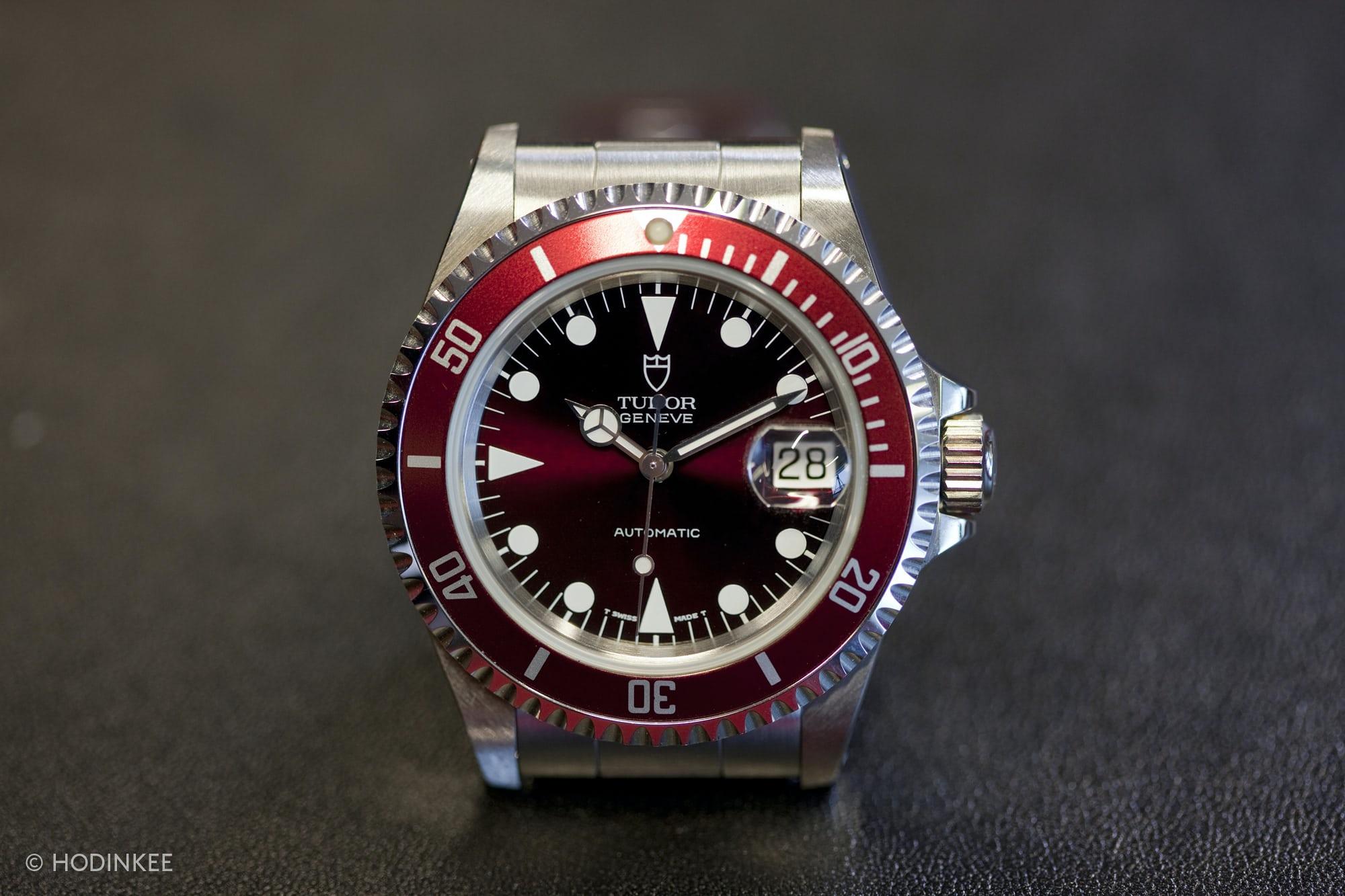 Tudor Submariner burgundy red prototype