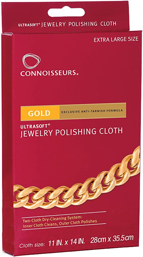Connoisseur watch polishing cloths