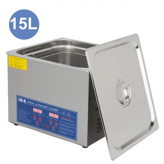 CO-Z 15L Professional Ultrasonic Cleaner with Digital timer