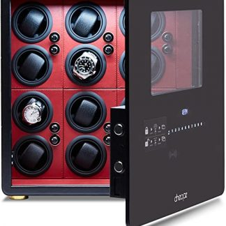 Cheopz Safe Watch Winder Box for 12 Watches