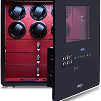 Cheopz Safe Watch Winder for 6 Watches