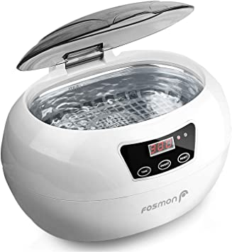 Fosmon Professional Ultrasonic Cleaner, Jewelry Polisher with Digital Timer
