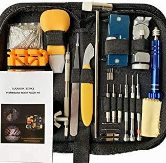 GOOGUJIA Watch Repair Tool Kit, Case Opener Spring Bar Tool