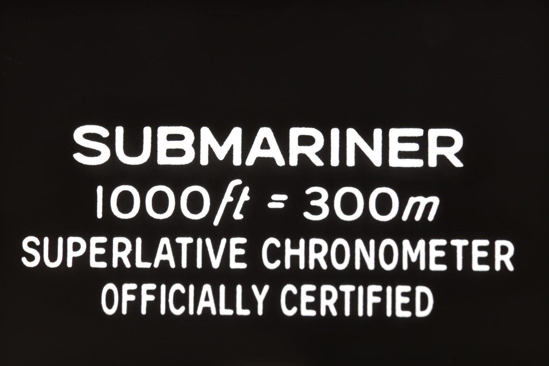 Rolex Submariner Macro