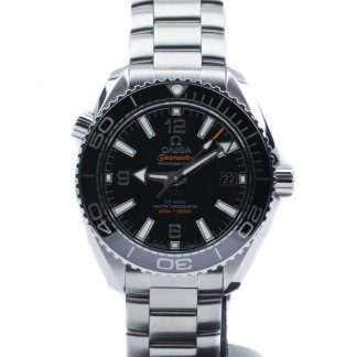 Omega Seamaster Planet Ocean 39,5mm Black Dial New 2020