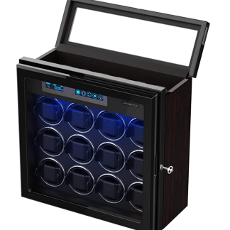 Jins & Vico Watch Winder for 12 Watches + 6 Storage Spaces