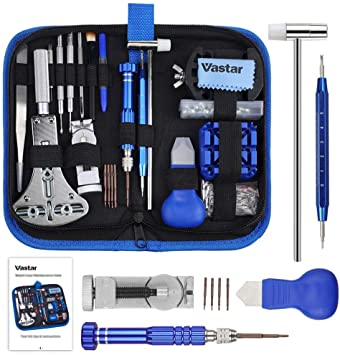 Vastar 177 PCS Watch Repair Tool Kit, Watch Band Link Tool Set