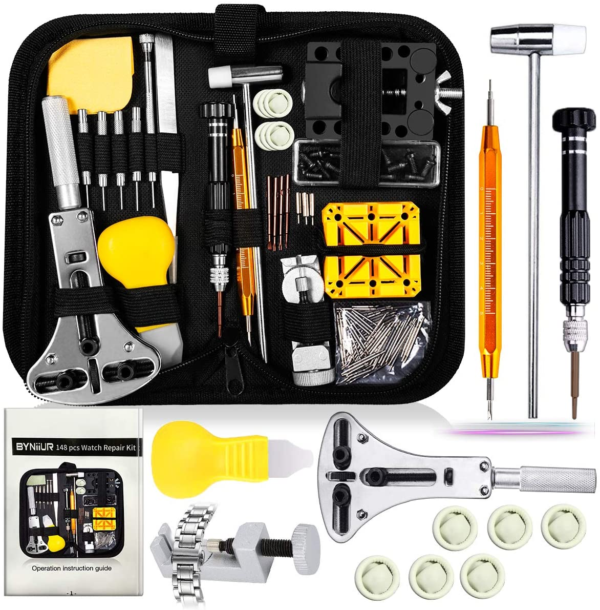 Watch Repair Kit, Watch Case Opener Spring Bar Tools