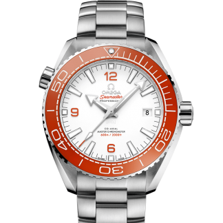 Omega Seamaster Planet Ocean 600M Steel Ceramic White Dial 43.5mm