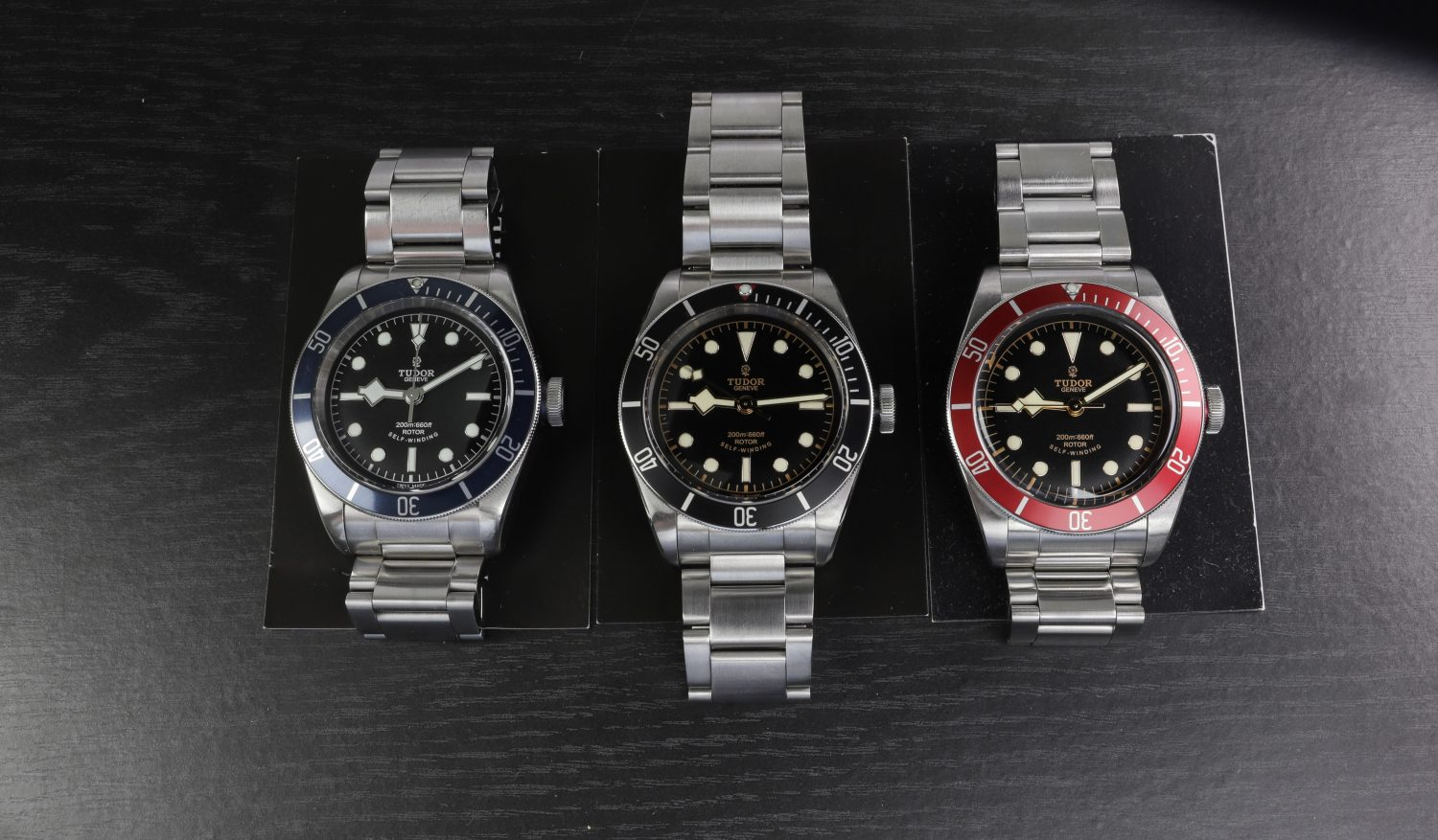 Tudor Heritage Black Bay 79220 COLORS