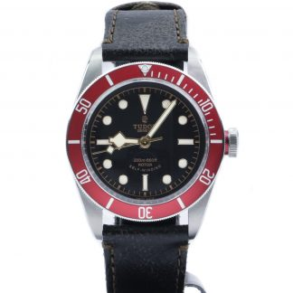 Tudor Heritage Black Bay ETA Red 79220R Leather NOS 2020