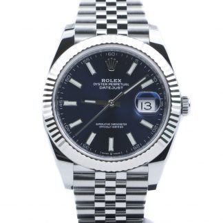 Rolex Datejust 41mm Blue Dial Jubilee 126334 Unworn 2019